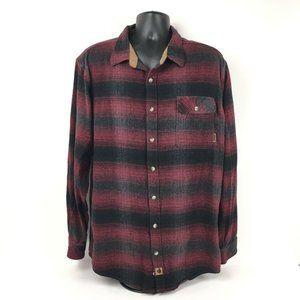 Legendary Whitetails Men's Flannel Size XL Long